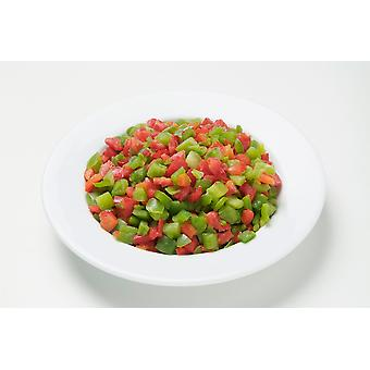Greens Frozen Mixed Diced Peppers