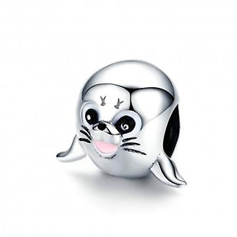 Sterling Silver Charm Sea Lion - 6291