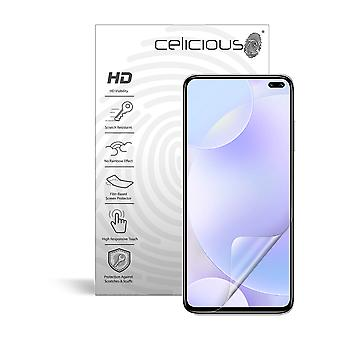 Celicious Vivid Invisible Glossy HD Screen Protector Film kompatibel mit Xiaomi Redmi K30 [Pack von 2]