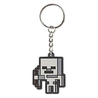 Minecraft, Keychain - Skeleton Sprite