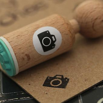 Camera Very Mini Wooden Rubber Stamp Craft / Scrapbooking / Stamping