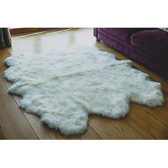 Nordvek Premium Luxury Natural Sheepskin Sexto Rug - Sexto Pelt - Grade A # 601-100