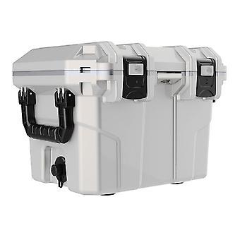 Tsunami Kühlbox 30 Quart Cooler Box 30 Liter, Weiß