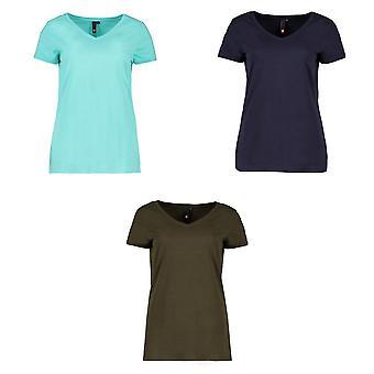 ID Womens/Ladies Core V-Neck T-Shirt