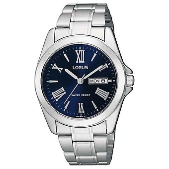 Lorus RJ637AX-9 Blue Dial Stainless Steel Wristwatch
