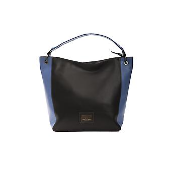 Black Pompei Donatella Women's Shoulder Bag