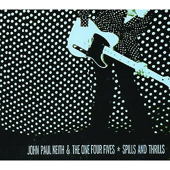 Keith, John Paul & the One Four Fives - Spills & Thrills [CD] USA import