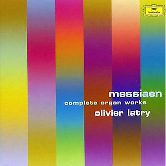 Olivier Latry - Olivier Messiaen: Complete Organ Works [CD] USA import