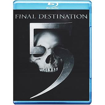 Final Destination 5 [Blu-ray] USA importare