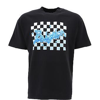 Babylon La F101054blk Men's Black Cotton T-shirt