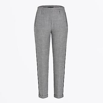 Cambio  - Tapered Cuff Pants - Grey