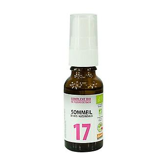 Bach Flowers - Complex No. 17 Sleep 20 ml of floral water