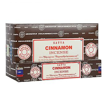 Something Different Satya Cinnamon Incense Sticks (12 Packs)