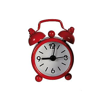 Red Miniature Old Fashioned Style Alarm Clock - Cracker Filler Gift