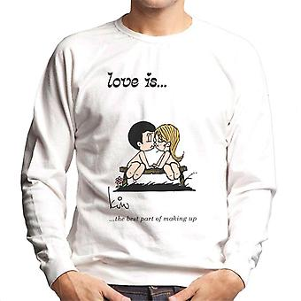 Love Is The Best Part Of Making Up Men-apos;s Sweatshirt Love Is The Best Part Of Making Up Men-apos;s Sweatshirt Love Is The Best Part Of Making Up Men-apos;s Sweatshirt Love Is
