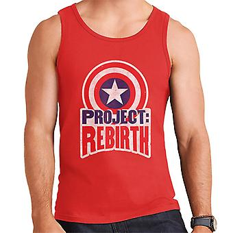 Marvel Captain America Project Rebirth Men's Vest