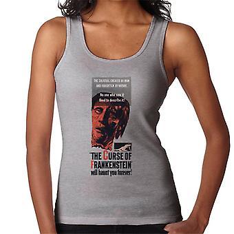Hammer Horrorfilme Frankenstein wird Sie für immer Frauen's Weste verfolgen