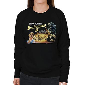 Hammer Horror films Quatermass 2 movie poster vrouwen ' s Sweatshirt