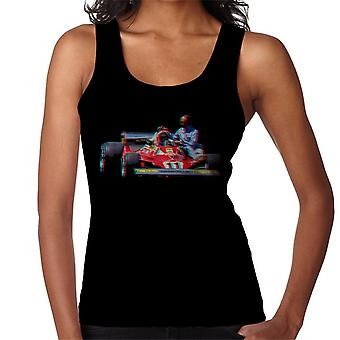 Motorsport Images Niki Lauda 312T2 Mechanic Lift Women's Vest