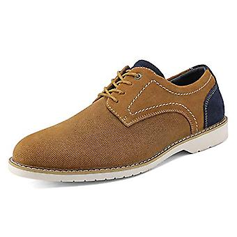 Bruno Marc New York Men's Shoes LG19006M Fabric Lace Up Casual Oxfords