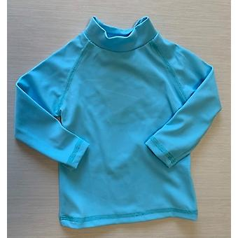 Aqua Perla Baby Boy or Girl Kris Blue Spf50+ Rash Vest