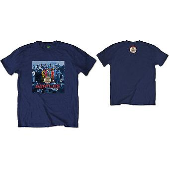 The Beatles Sgt Pepper Blue Officielle Tee T-shirt Herre Unisex