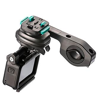 Dual handlebar attachment for ultimateaddons case + action camera