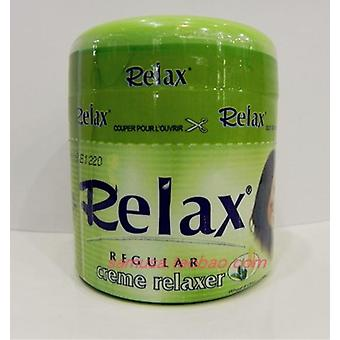 Relax Hair Regular Cream Relaxer -200ml X (1 bouteilles)