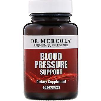 Dr. Mercola, Blodtrycksstöd, 30 kapslar