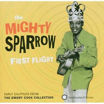 Mighty Sparrow - First Flight: Importation USA début Calypso de Emory the Cook C [CD]