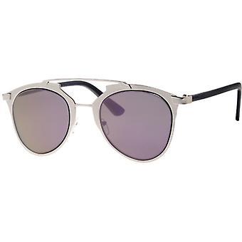 Sunglasses Women's Femme Chrome/Violet (L5119)