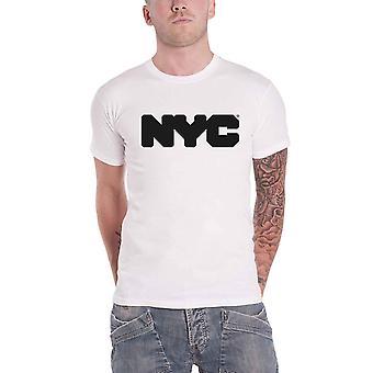 New York City T Shirt Logo new Official Mens White