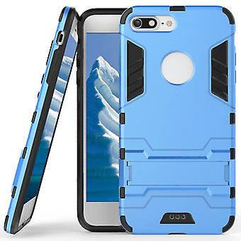Shell for Apple iPhone 8 Plus Space Armor Light Blue Plastic Protection Case