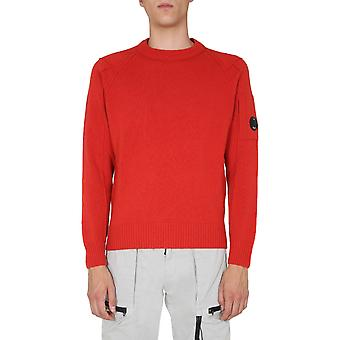 C.p. Compañía 09cmkn111a005504a486 Hombres's Suéter de lana roja