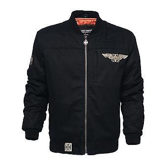 West Coast Choppers Men's Leather Jacket Assualt