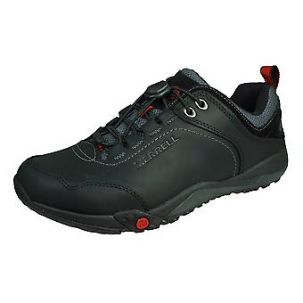 Merrell Helixer Morph Mens Leather Hiking Shoes - Black