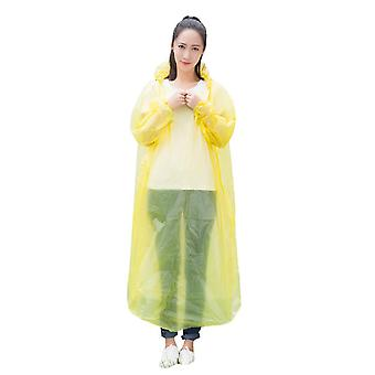 Disposable Raincoat Adult Emergency Waterproof -travel, Hiking Camping Rain
