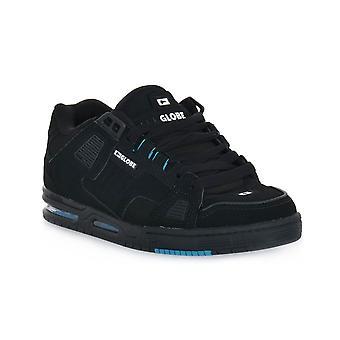 Globe sabre black blue skate shoes