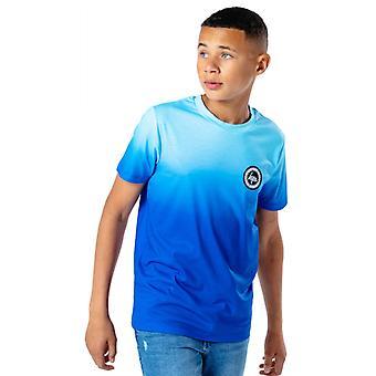 Hype Kids Blue Fade T-Shirt Azul 12