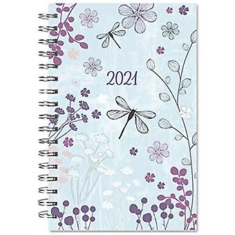 2021 Designer Dragonfly 17Month Weekly Planner by Inc Sellers Publishing