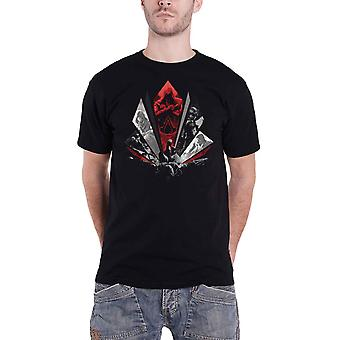 Assassins Creed T Shirt Legacy Eagle Dive Logo new Official Gamer Mens Black