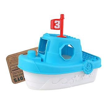 Enviro Plastic Boat with 7pc Blocks