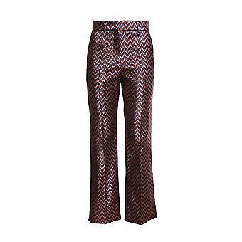 Missoni 2di001862w004plm01r Women's Multicolor Polyester Pants