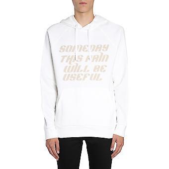 Lanvin Rmje0021h1800 Män's Vit Bomull Sweatshirt