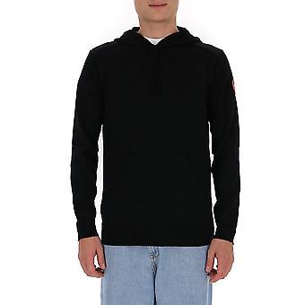 Canada Goose 7000m61 Men's Black Wool Sweatshirt