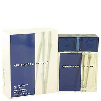 Armand Basi Blue by Armand Basi Eau de Toilette Spray 3,4 oz (miehet) V728-429666