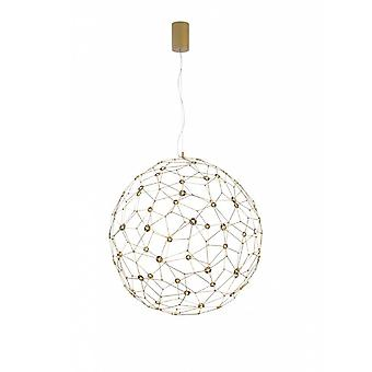 Sole Gold Pendant Lamp Led