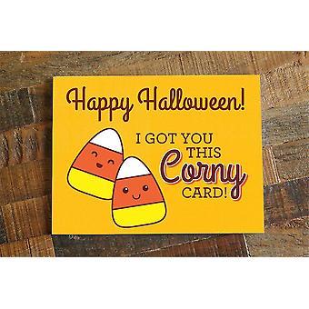 حصلت لك هذه البطاقة كورني سعيد بطاقة هالوين