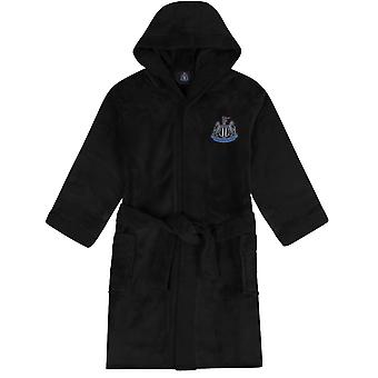 Newcastle United FC Dressing Gown Robe Mens Fleece - OFFICIAL Football Gift