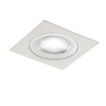 Fan Europe Mizar - Rétro-éclairage réglable LED intégré, Blanc, 4000K